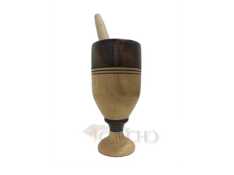 copo de caipira madeira