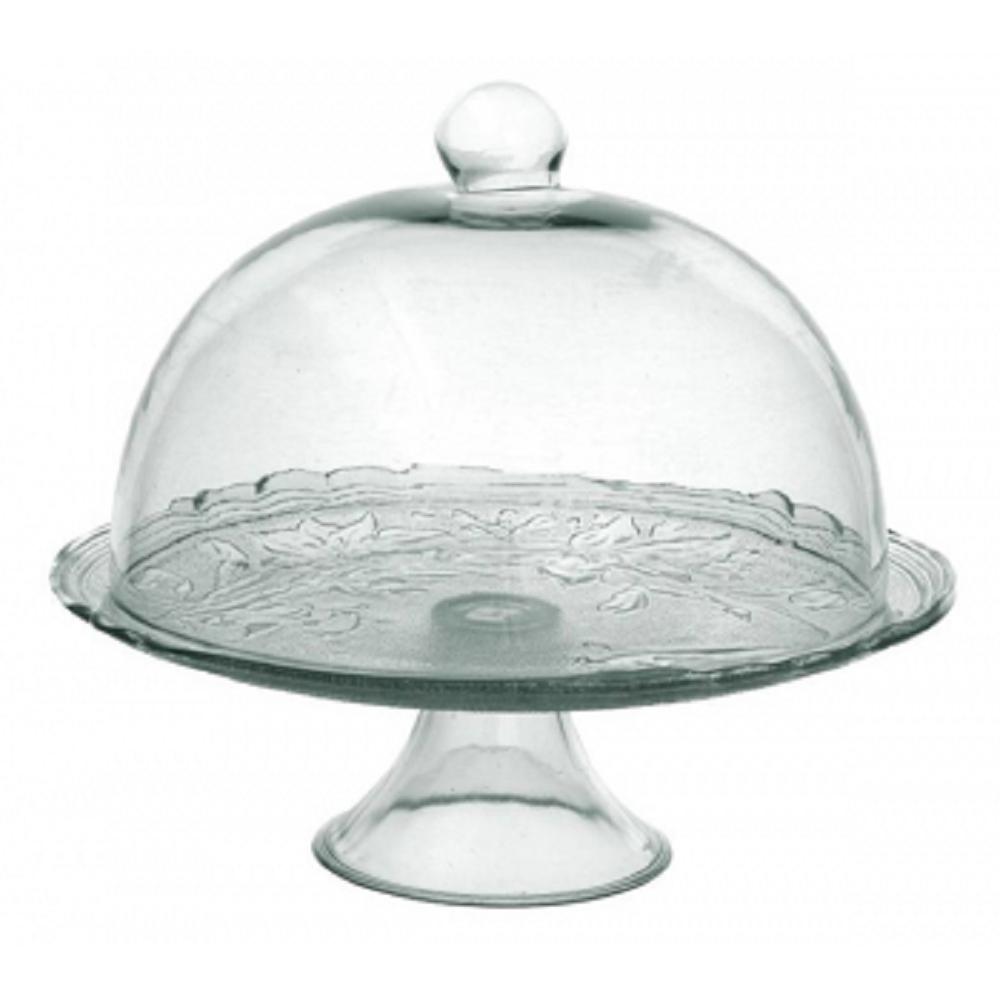 boleira de vidro lirio