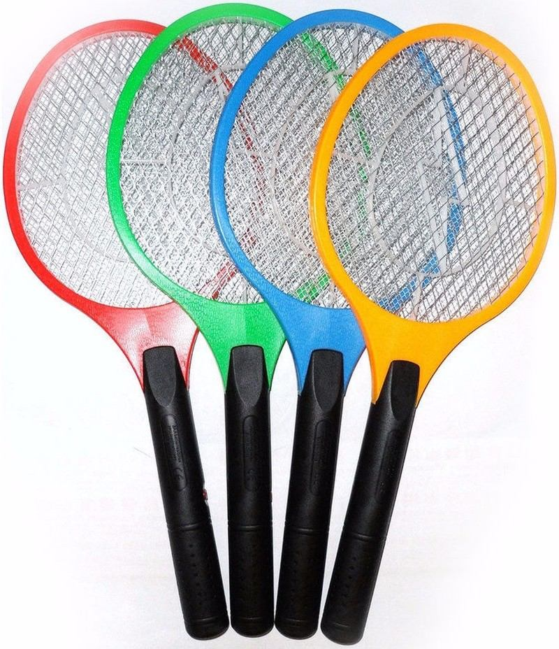 raquete mata mosquito elétrica