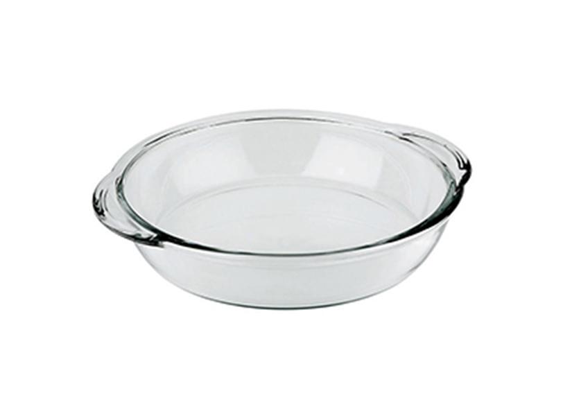 assadeira de vidro redonda 2,4lt