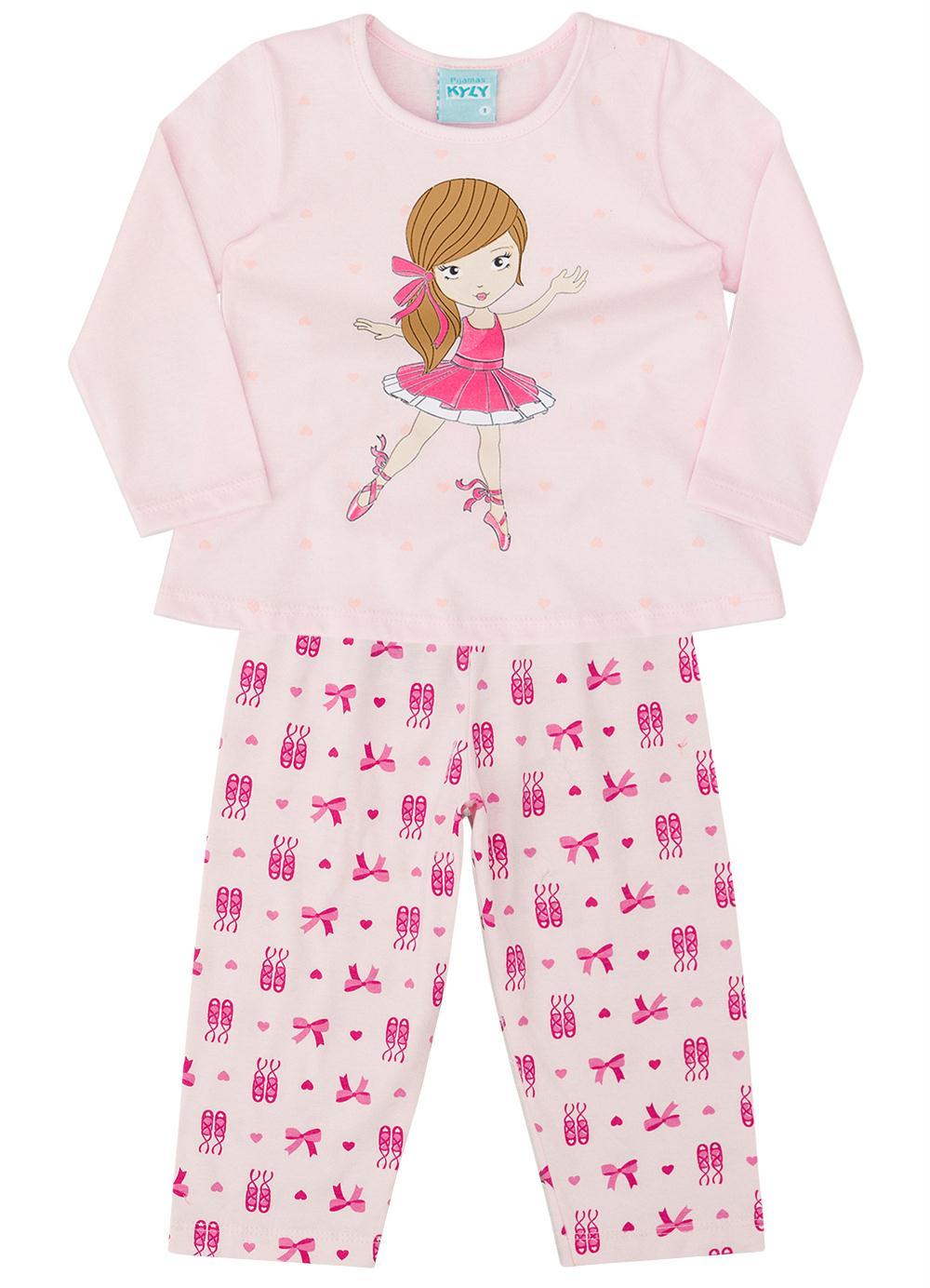 conjunto pijama infantil menina
