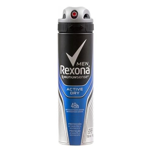 desodorante rexona men active dry