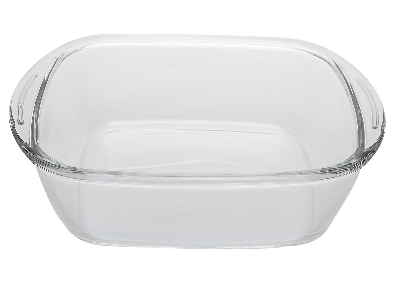assadeira de vidro quadrada 2,4lt